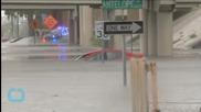 Texas Flooding Wipes Out Bridge