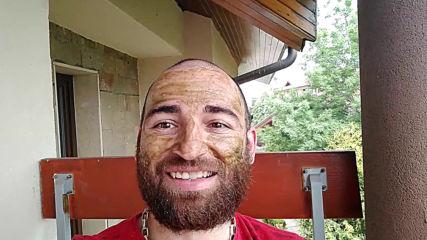 VankoG с маска за лице от Vertera Cosmetics part.2
