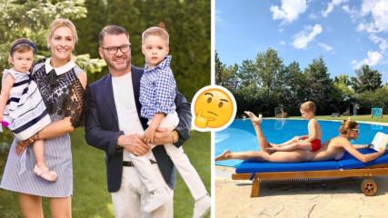 След раздялата: Теди Велинова с честитка за сина си, но от дома на д-р Енчев?!
