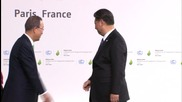 France: Obama and Xi Jinping arrive at UNCOP21
