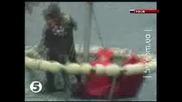 Спасяване  5-ма Руски  моряци  в Японско Море!