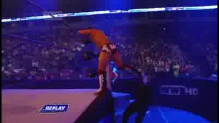 Sin Cara vs Даниел Брайън (с Чаво Гереро) - Разбиване 13/5/11