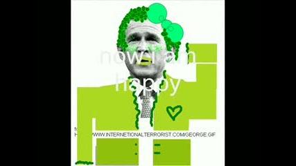 Правят Джордж Буш На Прасе
