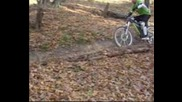 Downhill biking team Troyan - спускане на виражите