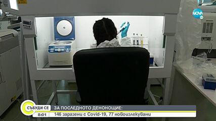 146 са новите случи на заразени с коронавирус у нас