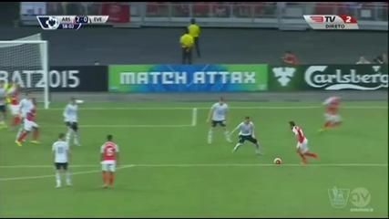 Евертън - Арсенал 1:3