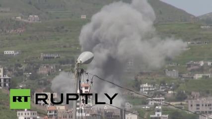 Йемен: Поне 36 души загинаха след като саудитски самолети атакуваха фабрика за бутилиране