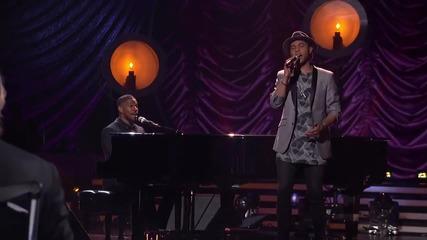 Jamie Foxx & Rayvon Owen - In Love By Now * American Idol
