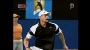Australian Open 2009 : Федерер - Родик | Част 1/2