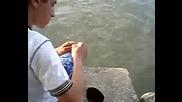 За Риба На Дунава