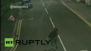 UK: Suspected rapist crosses Birmingham street carrying victim