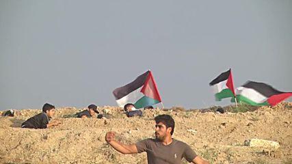 State of Palestine: Over 40 injured in Gaza border protests