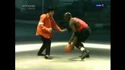 Michael Jackson and Michael Jordan - Making of Jam