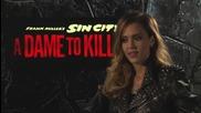Интервю със звездата Джесика Алба за филма й Град на Греха 2: Жена, за която да убиеш (2014)