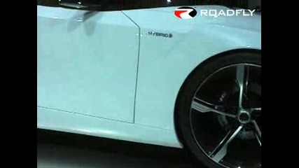 New Toyota Ft - Hs Concept Car In Detroit