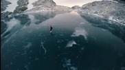 """Фигурно пързаляне при 5000 """" в планините на Британска Колумбия"""