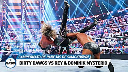 WrestleMania Backlash (RESULTADOS): WWE Ahora, May 16, 2021