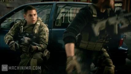 Call of Duty Modern Warfare 3 The Vet и Noob на живо действие Trailer [hd]