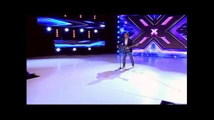 Невероятно изпълнение - X Factor Георги Арсов (19.09.13)