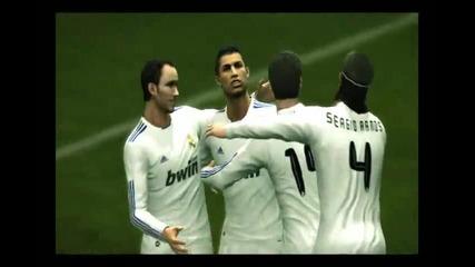 Pes 2011 The Ronaldo Free Kick Real Madrid