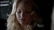 Vampire Diaries 4x01 - Klaus saves Caroline & lets Rebekah know he's in Tyler's