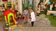 """""""На кафе"""" с актрисата Стойка Стефанова, мъжът ѝ Мариан и дъщеря им Андреа (26.12.2016)"""