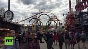 Germany: Thousands rejoice as Bavarian Oktoberfest begins in Munich