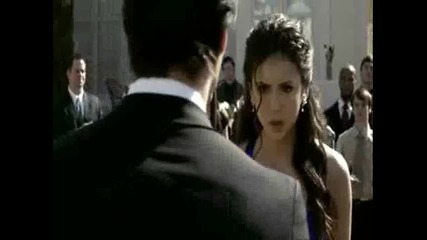 Damon. Elena - dance 1x19 The Vampire Diaries