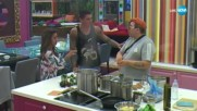Взривоопасна ситуация в кухнята. Шеф Петров остави черпака - VIP Brother 2017