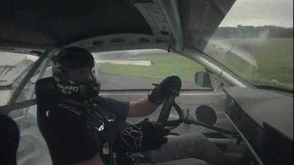 Дрифт шоу с Ford Mustang
