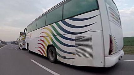 Репатриране на автобус от Кърджали до сервиза за ремонт 27.02.2016