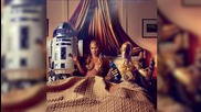 Amy Schumer Channels Star Wars in Raunchy New Photo Shoot
