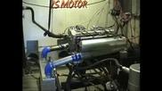 BMW E34 M5 Turbo 1033 k.с.- Dyno Run