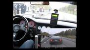 Audi S2 vs Yamaha Fzr1000