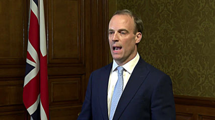 UK: 'Government business will continue' - Raab after PM Johnson moved to intensive care