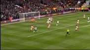 ВИДЕО: Спиращата дъха първа част на Тотнъм - Арсенал