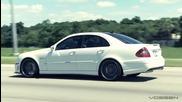 Красотата на Mercedes - Benz W211 E55, E63 amg