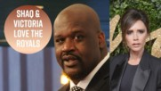 Shaquille O'Neal hits on the Queen on TV
