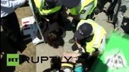 Canada: Topless FEMEN crash anti-abortion rally in Ottawa *EXPLICIT*