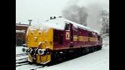 Голям студ Влак пали при - 47°c
