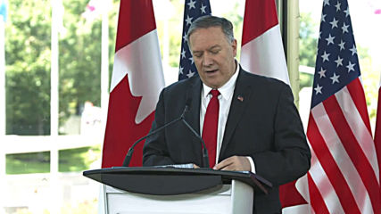 Canada: Pompeo visits Ottawa ahead of G7 Summit