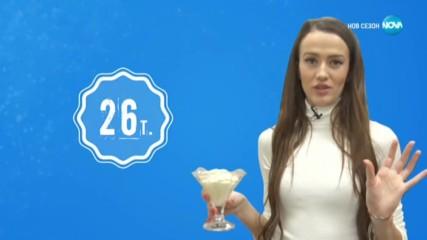 Оценките на Дениз Хайрула - Черешката на тортата (07.01.2020)