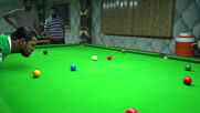 Watch this armless Pakistani snooker talent beat the competition with just his chin