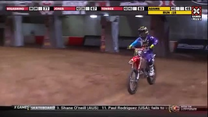 X Games 17 Nate Adams takes Gold in Moto X Freestyle Final