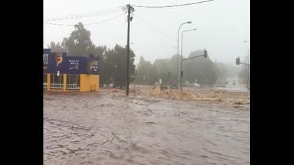 Кадри от наводнението в Toowoomba на 01.10