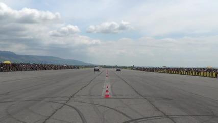 Благой Петров Porsche GT2 финална битка за класа с Иван Иванов BMW E30 Turbo