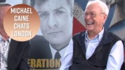 Michael Caine loves London so much it's adorable