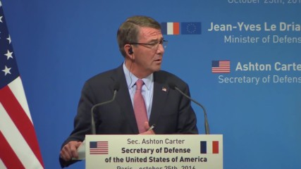 France: Russia will not be included in liberation of Raqqa – US DefSec Carter