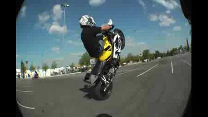 Motorcycle Stunt -