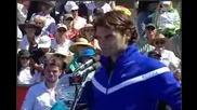 Kooyoon Tennis Classic : Федерер - Вавринка | награждаване